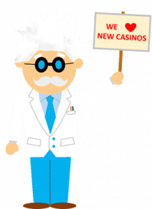 We love finding new online casinos
